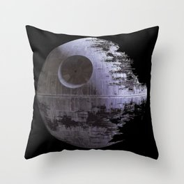 Black death Throw Pillow