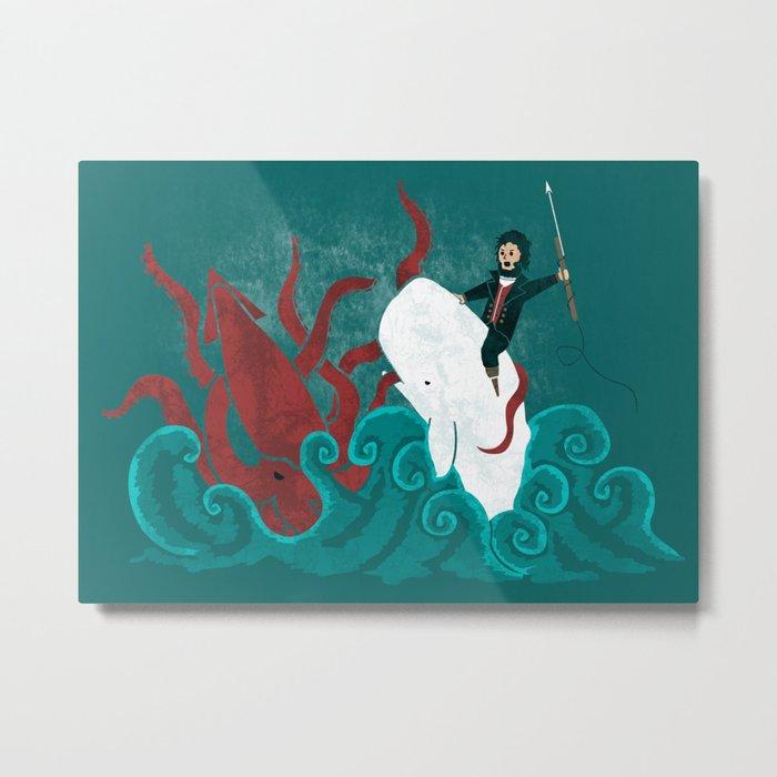 Dangerous Waters Metal Print