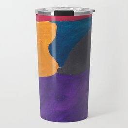 30 | 190330 Abstract Shapes Painting Travel Mug