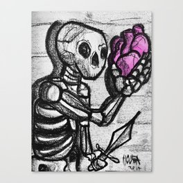 To love or not to love Canvas Print