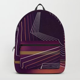 """ Wine time "" luxury Backpack"