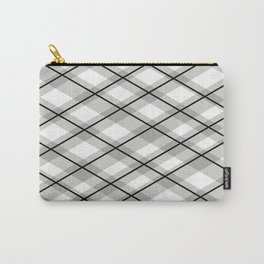 Simple Plaid pattern home Carry-All Pouch