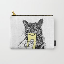 Cat Emoji - P0st it with a smile Carry-All Pouch
