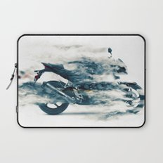 Dynamic motorcycle Laptop Sleeve