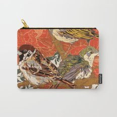 Morning Peonies Carry-All Pouch