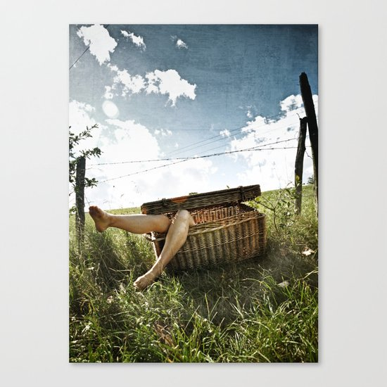 Cannibal pic-nic Canvas Print
