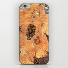TEXTURES - Manzanita in Drought Conditions #2 iPhone Skin