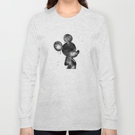 Mouse, cartoon character Long Sleeve T-shirt