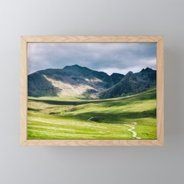 In the foothills Framed Mini Art Print