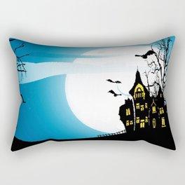 Halloween House Rectangular Pillow