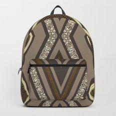 Geometric Rustic Glamour Backpacks
