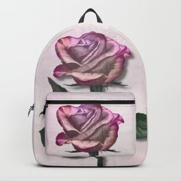 Pink Shimmering Rose Backpack