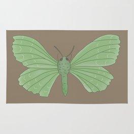 Emerald Moth Rug