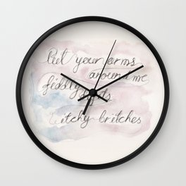 Frank the movie, Quote Wall Clock