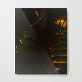 King Dark CatFish - The Chain Metal Print