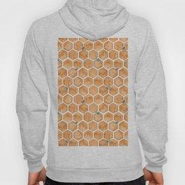 Honey Bee Hexagons Hoody