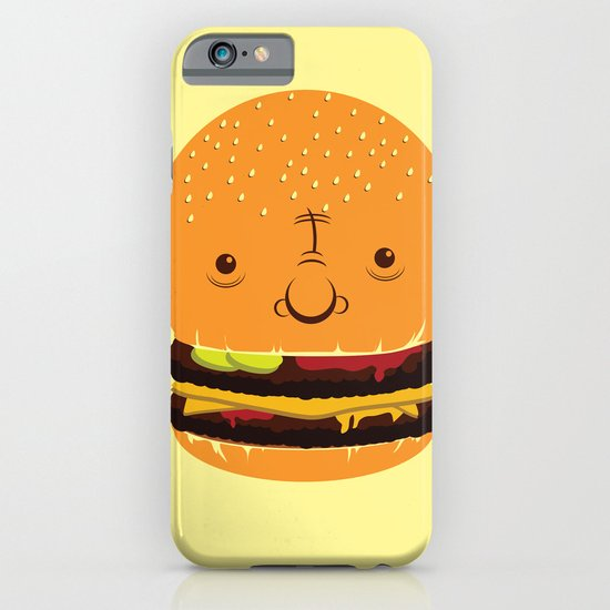 Cheeseburgerhead iPhone & iPod Case