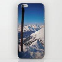 ski iPhone & iPod Skins featuring ski by ViiGlory