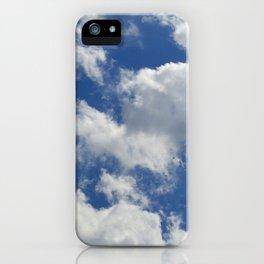 Sunny Cloudy Sky iPhone Case