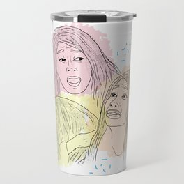 David is DEAD? Travel Mug