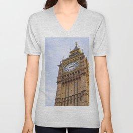 London, England 90 Unisex V-Neck
