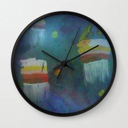 Cuboid Jellyfish Wall Clock