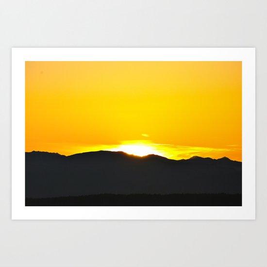 God's Eye Art Print