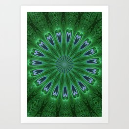 Feather Eyes Art Print