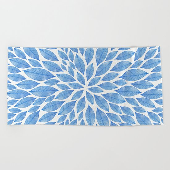 Petal Burst #24 Beach Towel