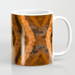 Abstract geometric pattern. Multicolored stipes Coffee Mug