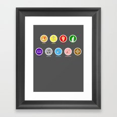 The perfect tripulation Framed Art Print