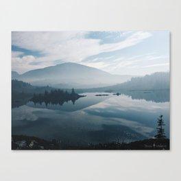 Smokey Mornings Canvas Print