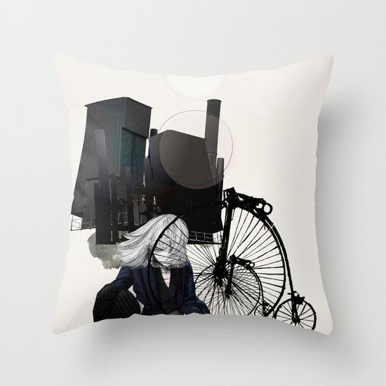 SYSTEM Throw Pillow