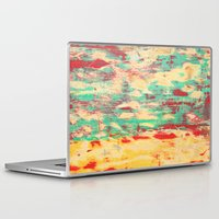 wooden Laptop & iPad Skins featuring Wooden Pattern by Patterns and Textures