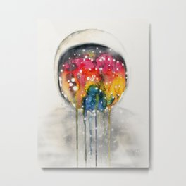 Somewhere in Space, I'm Dreaming Metal Print