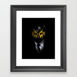SOLAR SQUAD MAN Framed Art Print
