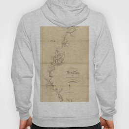 The Atlantic Neptune: Charts for the Use of the Royal Navy (1780) - Mississippi River to Yazous Hoody