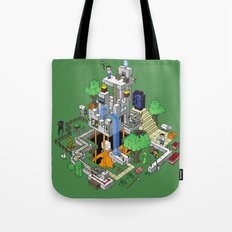 Minecraft World Tote Bag