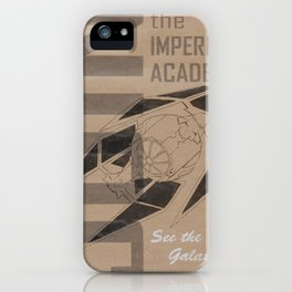 Join The Imperial Academy! iPhone Case