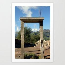La Puerta  Art Print
