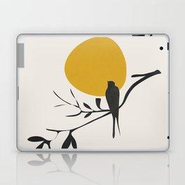 Bird and the Setting Sun Laptop & iPad Skin