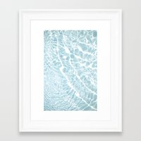pool Framed Art Prints featuring Pool by Claire Jantzen