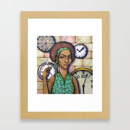 Patience Yields Success Framed Art Print