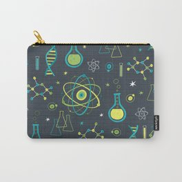 Midcentury Modern Science Carry-All Pouch