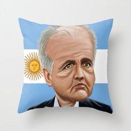 Alejandro Sabella World Cup 2014 Throw Pillow