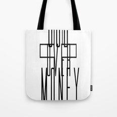 GOD OVER MONEY Tote Bag