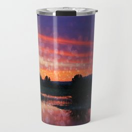 Boise Sunset Travel Mug