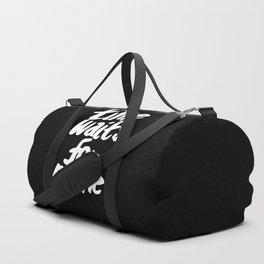 Time Waits For No One Duffle Bag