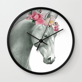 Spring Racing Wall Clock