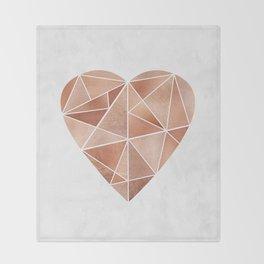Mosaic Heart Throw Blanket